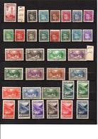 N°46  à 92 .Séries Armoiries & Paysages  De 1935 à 1943 Qualité : ** Cote 836 € - Andorre Français
