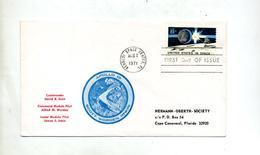 Lettre Fdc 1971 Apollo 15 - Ersttagsbelege (FDC)