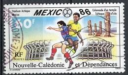 Nouvelle Calédonie - Neukaledonien - New Caledonia 1986 Y&T N°518 - Michel N°781 (o) - 60f Coupe Du Monde  De Football - Used Stamps