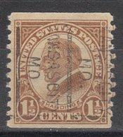 USA Precancel Vorausentwertung Preo, Locals Missouri, Kansas City 598-163 - Vereinigte Staaten