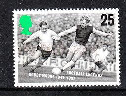 Gran Bretagna   - 1996. Bobby Moore, Asso Del Calcio Britannico. British Football Ace. - Football