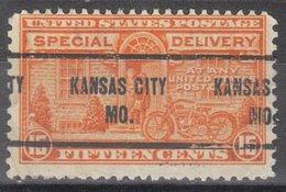 USA Precancel Vorausentwertung Preo, Locals Missouri, Kansas City E16-257 - Vereinigte Staaten