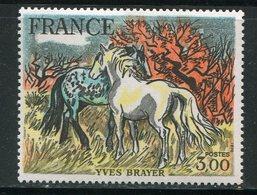 FRANCE- Y&T N°2026- Neuf Sans Charnière ** (chevaux) - Ungebraucht