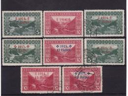 # Z.10941 Bosnia & Herzegovina ( Austro - Hung. Empire) 1914 -15, 2 X Full Sets Ovpr. MNH (x), MLH, Used, Michel 89 -92 - Bosnia Herzegovina