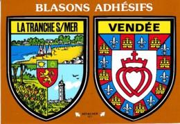 BLASONS ADHESIFS LA TRANCHE SUR MER -VENDEE REF 62185 - La Tranche Sur Mer