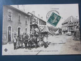 Carte Postale Cantal, Neussargues, Diligence De Condat - France