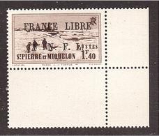 SPM ST PIERRE FRANCE LIBRE Yvert 265 Luxe ** - Neufs