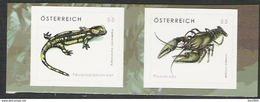 2007 Austria Mi.2648-9 **MNH Tierschutz - 2001-10 Unused Stamps