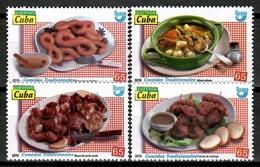 Cuba 2019 / Gastronomy Food UPAEP MNH Gastronomía Comidas Gastronomie / Cu15501  C4-11 - Cuba