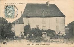 CPA 63 Puy-de-Dôme SERVANT Le Couvent - Francia