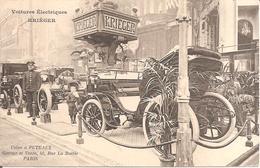 Voitures Electriques KRIEGER - Usine à Puteaux - Garage Et Vente 48 , Rue La Boëtie , PARIS - 1906 - Voitures De Tourisme