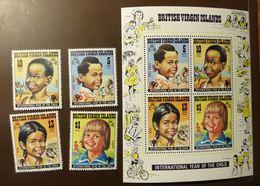 British Virgin Islands Yvert N° BF 11 364 à 367 Année De L'enfant 1979 JAHR DES KINDES YEAR OF THE CHILD ** MNH #5138 - British Virgin Islands