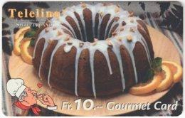 SWITZERLAND C-809 Prepaid Teleline - Food, Sweet, Cake - Used - Suisse