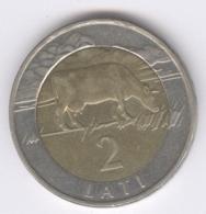 LATVIA 1999: 1 Lati, KM 38 - Lettonie