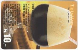 SWITZERLAND C-989 Prepaid Teleline - Drink, Cocktail - Used - Schweiz