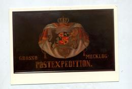Carte Embleme Poste Mecklenburg - Post