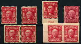 Estados Unidos Nº 158/88A. Año 1903/7 - Stati Uniti
