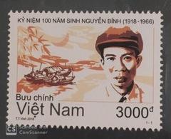 Vietnam Viet Nam MNH Perf Stamp 2018 : 100th Birth Anniversary Of Nguyen Binh (Ms1089) - Vietnam