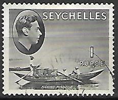 SEYCHELLES    -    1941 .  Roi Georges VI  /  Pirogue - Seychelles (...-1976)