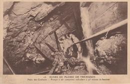 22 - TREMUSON - Mines De Plomb De Trémuson - Puits Des Cruhauts - Pompe à Air Comprimé Refoulant.... - Francia