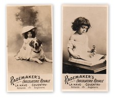 2 Kleine Foto's - Rademaker's - Chocolaterie Royale - La Haye - Coventry) - Otros