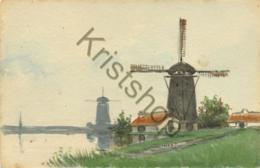 Schilderij-kaart - Molens  [5C-186 - Moulins à Vent