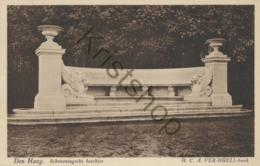 Den Haag - Scheveningsche Boschjes - Verhuell-bank  [5D-144 - Den Haag ('s-Gravenhage)