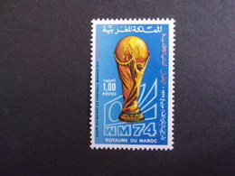 MAROC 1977 WM '74 MI-NR 777 NEUF** - Marokko (1956-...)