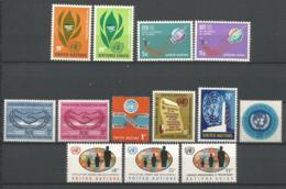 ONU SIEGE DE NEW YORK ANNEE 1955 N°135 A 147 NEUFS** MNH - ONU