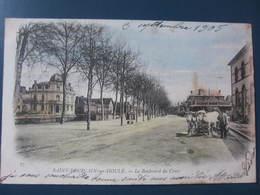 Carte Postale  Saint Pourçain Sur Sioule Le Boulevard Du Cours - Francia