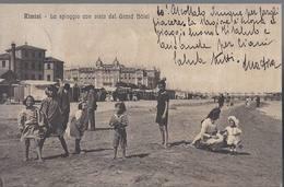 Rimini - La Spiaggia Con Vista Del Grand Hotel - HP1582 - Rimini