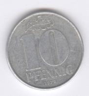 DDR 1972: 10 Pfennig, KM 10 - 10 Pfennig