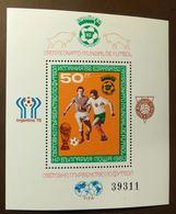 Bulgarien 1980 2901 Block 104 Fußball-Weltmeisterschaft 1982 In Spanien ** MNH #5146 - Hojas Bloque