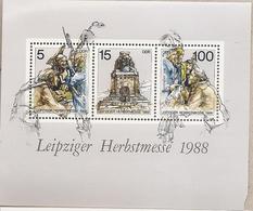 DDR - Foglietto Nuovo MICHEL Block 95: Fiera D'autunno Di Lipsia - 1988 * G - Nuovi