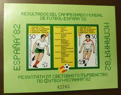 Bulgarien 1982  3130/31 Block 127 Fußball-Weltmeisterschaft 1982 In Spanien ** MNH #5147 - Hojas Bloque