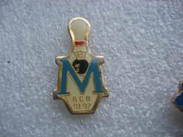 Pin's Du Bowling Club Occitan De Montpellier (BCO), 91-92 - Bowling