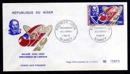 Niger A 125 Fdc Précurseur De L'espace , Galilée - Sterrenkunde