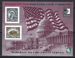 Marshal Islands - Washington 2006 World Philatelic Exhibition - Imperforated Souvenir Sheet - Micronésie