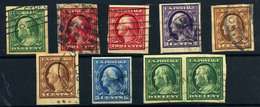 Estados Unidos Nº 167/71D. Año 1908/9 - Gebraucht