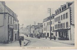 CONCARNEAU  Avenue De La Gare - Concarneau