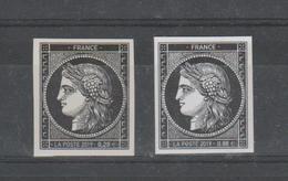"""FRANCE / 2019 / Y&T N° 5305 & 5305A ** : """"Cérès 1849-2019"""" Les 2 TP (du Coffret Prestige & Du Bloc) - Neufs"""