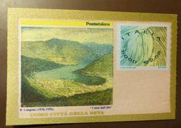 """ITALIA   ITALY 2001 **  Francobollo Di Seta """" Como Citta' Della Seta """" - Block   #5152 - Blocks & Kleinbögen"""