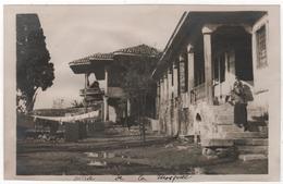 Photo Originale Guerre D'Orient GREECE GRECE SALONIQUE Mosquée Des Derviches Tourneurs - Guerra, Militari