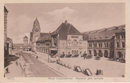 57 - METZ - NOUVELLE GARE CENTRALE - BELLE VUE EXTERIEURE SUR LE SALON CHARLEMAGNE - Metz