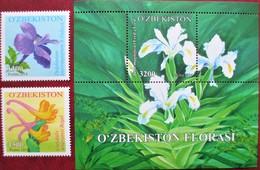 Uzbekistan  2014  Flora  2 V +S/S     MNH - Ouzbékistan