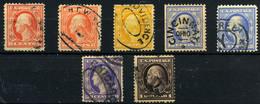 Estados Unidos Nº 172, 174, 176/8. Año 1908/9 - Used Stamps