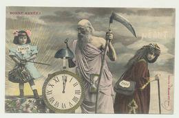 Bonne Année 1905 En Couleur -phototypie Bergeret - Bergeret