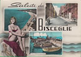 BISCEGLIE. Via Imbriani. Porto. Saluti Da...... 236b - Bari