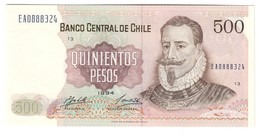 CHILE500PESOS1994P153UNC.CV. - Cile