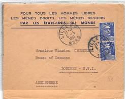 1953.- LETTRE A SIR WINSTON CHURCHILL DU 1ER MINISTRE DANS LES ELECTIONS DE 1951 EN OCTOBRE - Otros